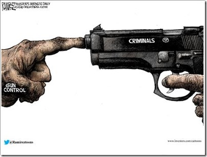 gun control and criminals