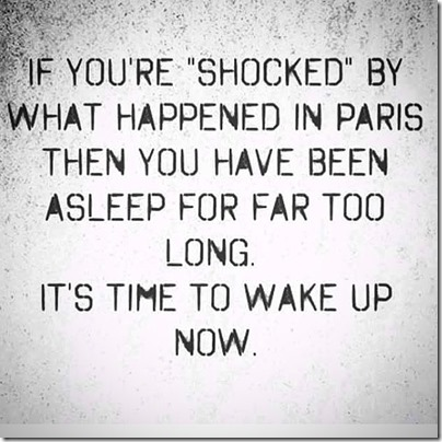shocked Paris