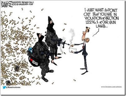 Isis Gun Law Violation