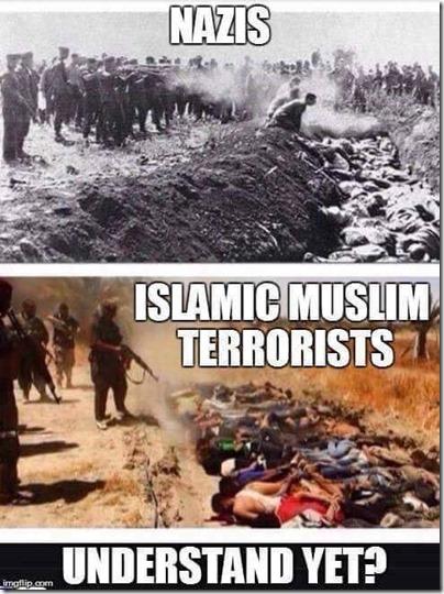 nazi and terrorists